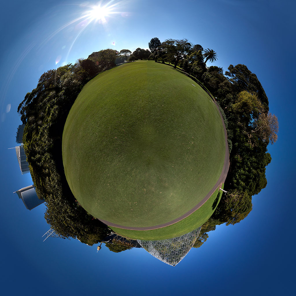 little planet                       photography Botanic Gardens Brisbane