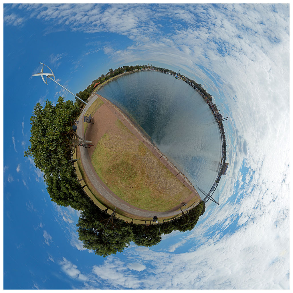 little planet                       photography glebe