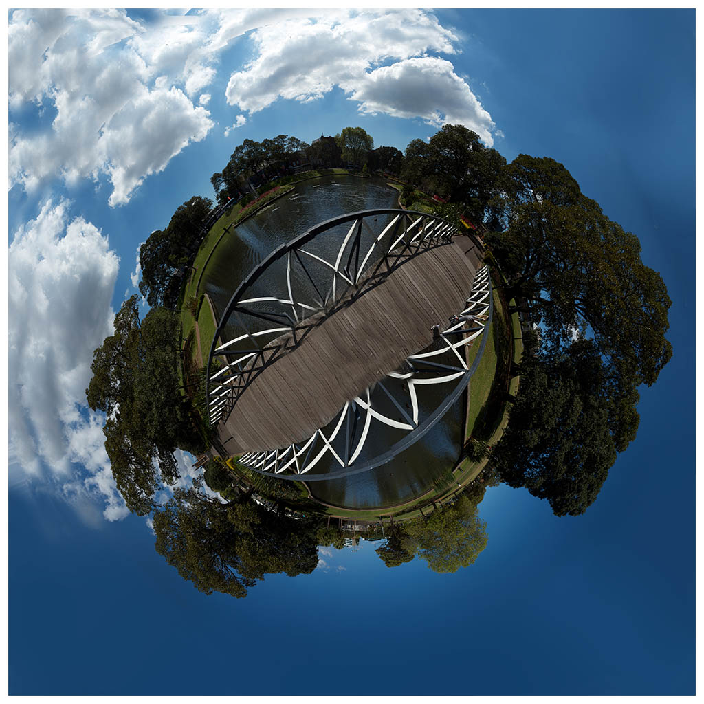 little planet photo