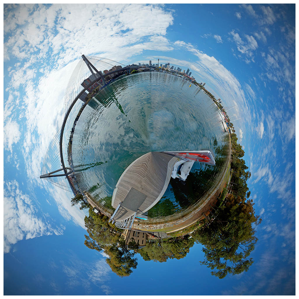little planet-Anzac                       Bridge