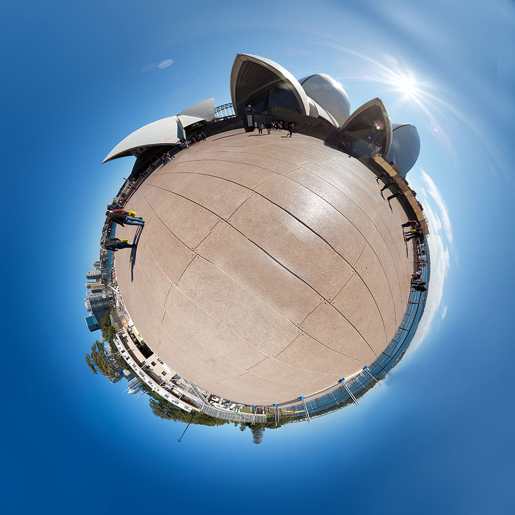 Brisbane Opera House Little Planet